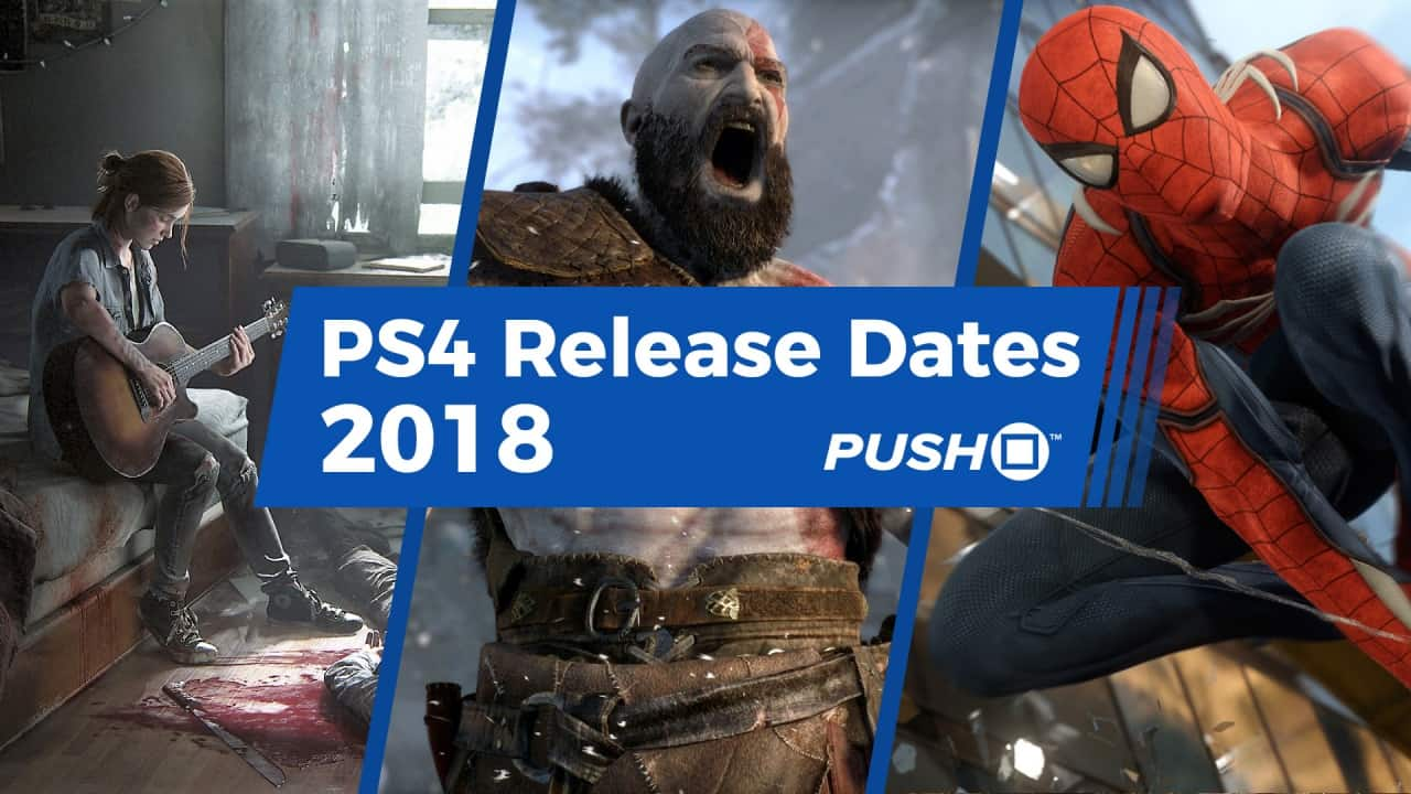 PS4 Games that will come in 2018